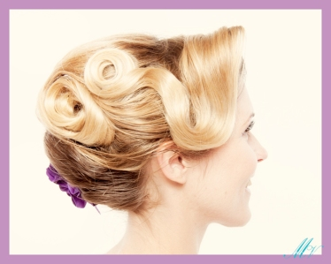 1960s updo. A Star Photography Studios