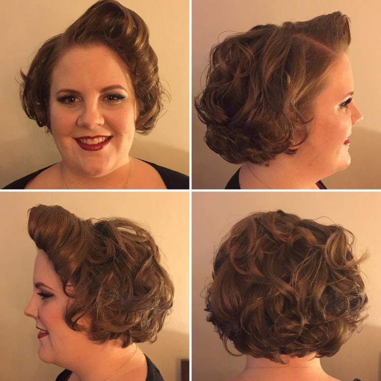 1950's curl set