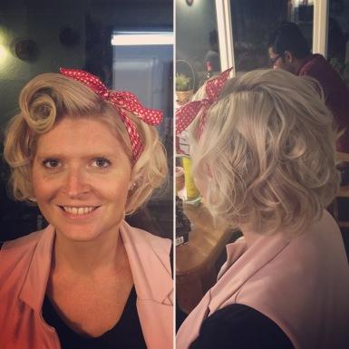 1950's Marilyn inspired curls