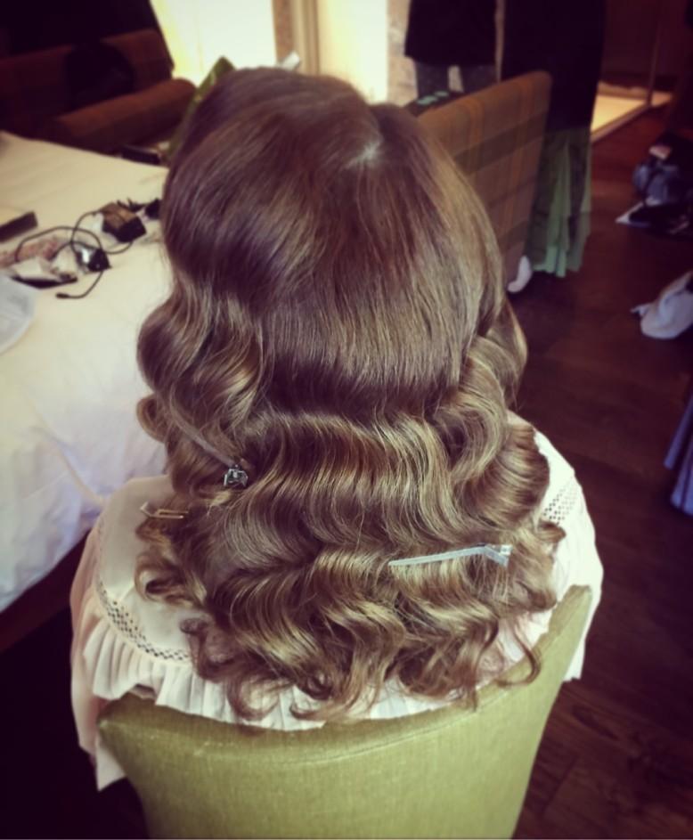 curl brushout