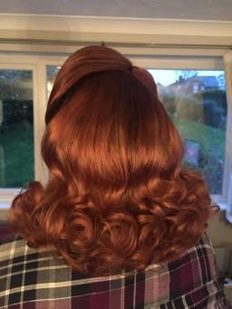 Vintage curl set